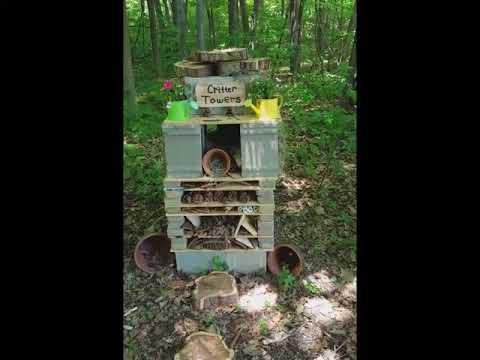 Kuehn Haven Middle School Outdoor Classroom Wildlife Habitat and Pollinator Garden