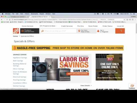 How I Process My Order At Home Depot For EBay Dropshipping