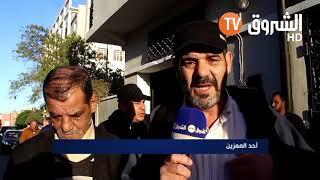 المعزّون من 48 ولاية  يتوافدون على بيت عائلة الراقي المغدور  بلحمر  ...