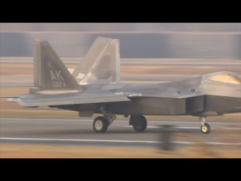 Raw: Massive US-SKorean Air Force Exercise