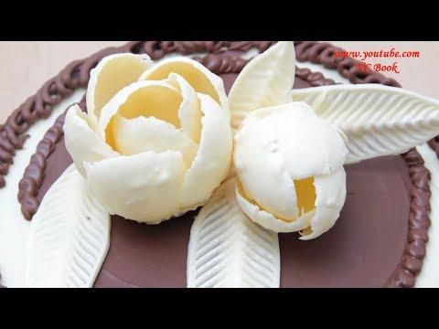 Как сделать цветы из шоколада в домашних условиях