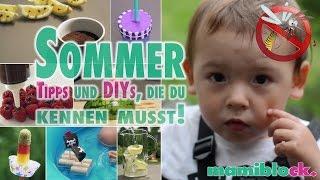 Sommer - Tipps, Hacks & DIYs   mamiblock - Der Mami Blog