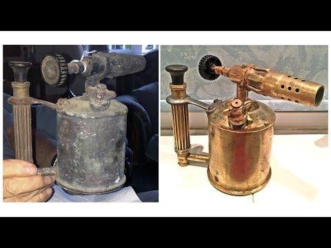 Vintage Sievert Blow Torch Restoration