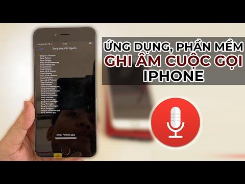 Cách cài ứng dụng, phần mềm ghi âm cuộc gọi iPhone miễn phí