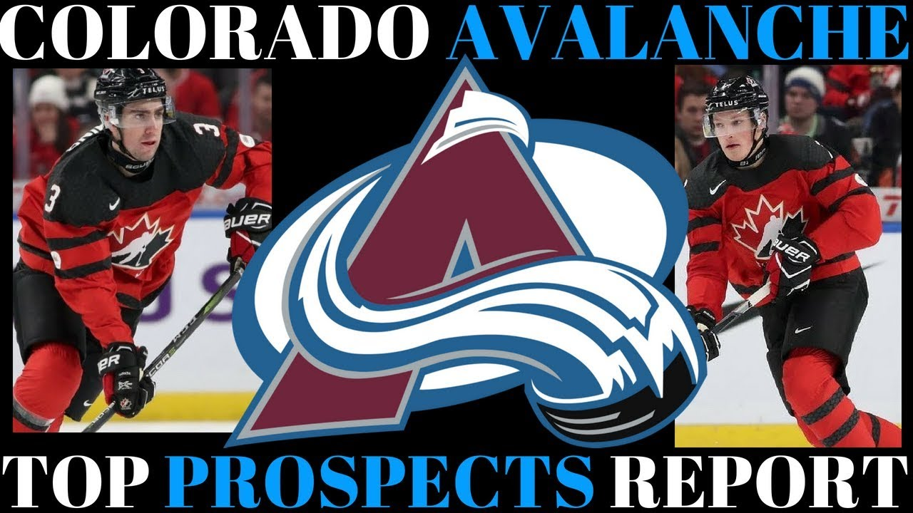 TOP NHL PROSPECTS 2018 - COLORADO AVALANCHE - YouTube 7243a1fdc