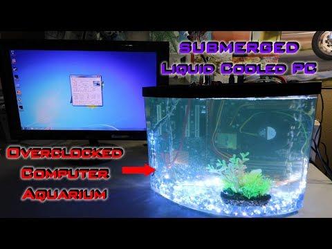 My Liquid Cooled PC Aquarium - Best Setup To Date