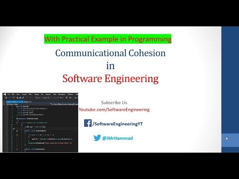 Communicational Cohesion in Software Engineering Urdu/ Hindi