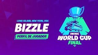 Fortnite World Cup - Perfil de jugador - Bizzle
