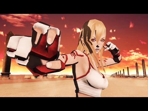 No More Heroes: Jeane Boss Fight / Slowed Down Speech (Dolphin 4K 60fps)