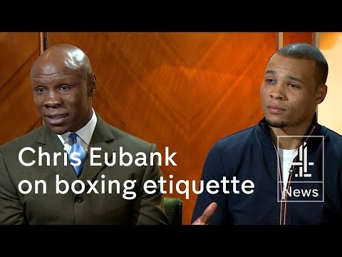 Chris Eubank: 'Your line of questioning isn't conducive to a good interview'