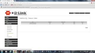 Dlink dsl-2640nru modemde mac adresi engelleme