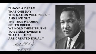 I HAVE A DREAM MARTON LUTHER KING Jr , GRADE 12 CHAPTER & Question Answers