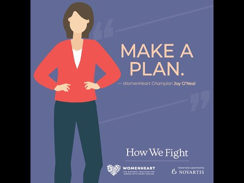 How do I tell my family about my heart failure diagnosis? – Joy #HowWeFight
