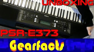 Yamaha PSR-E373 Unboxing and NEW FEATURES