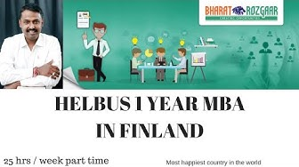 HELBUS (One year MBA) in FINLAND