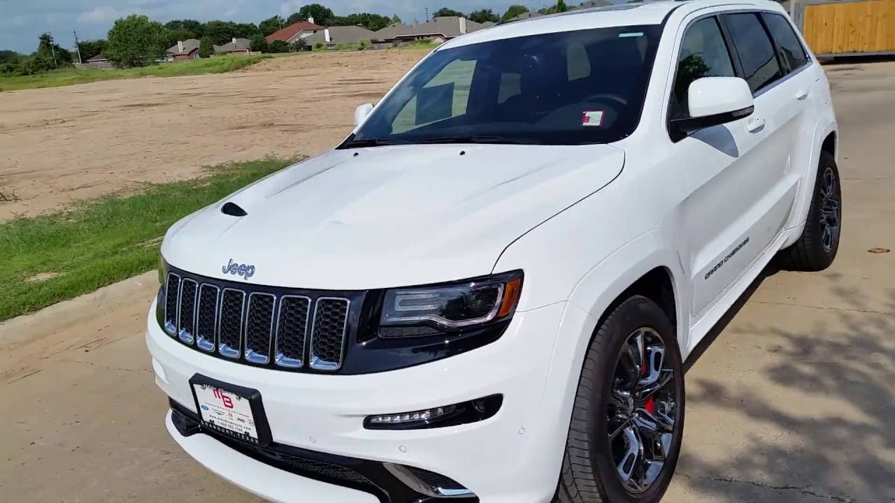 New 2015 Jeep Grand Cherokee SRT8 475hp TDY Sales DFW North Texas Dealer