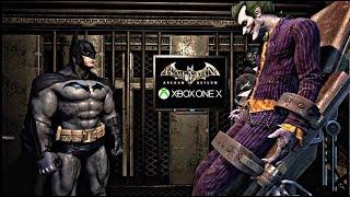 BATMAN: Arkham Asylum XBOX ONE X GAMEPLAY!!!