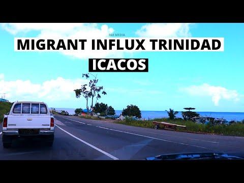 Venezuelans RUSHING Trinidad ICACOS?  (Venezuela's Door)