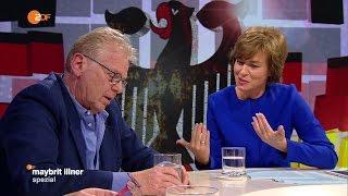 """Wie wird aus Wut Politik?"" mit Daniel Cohn-Bendit! 13.10.2016 Maybrit Illner - Bananenrepublik"