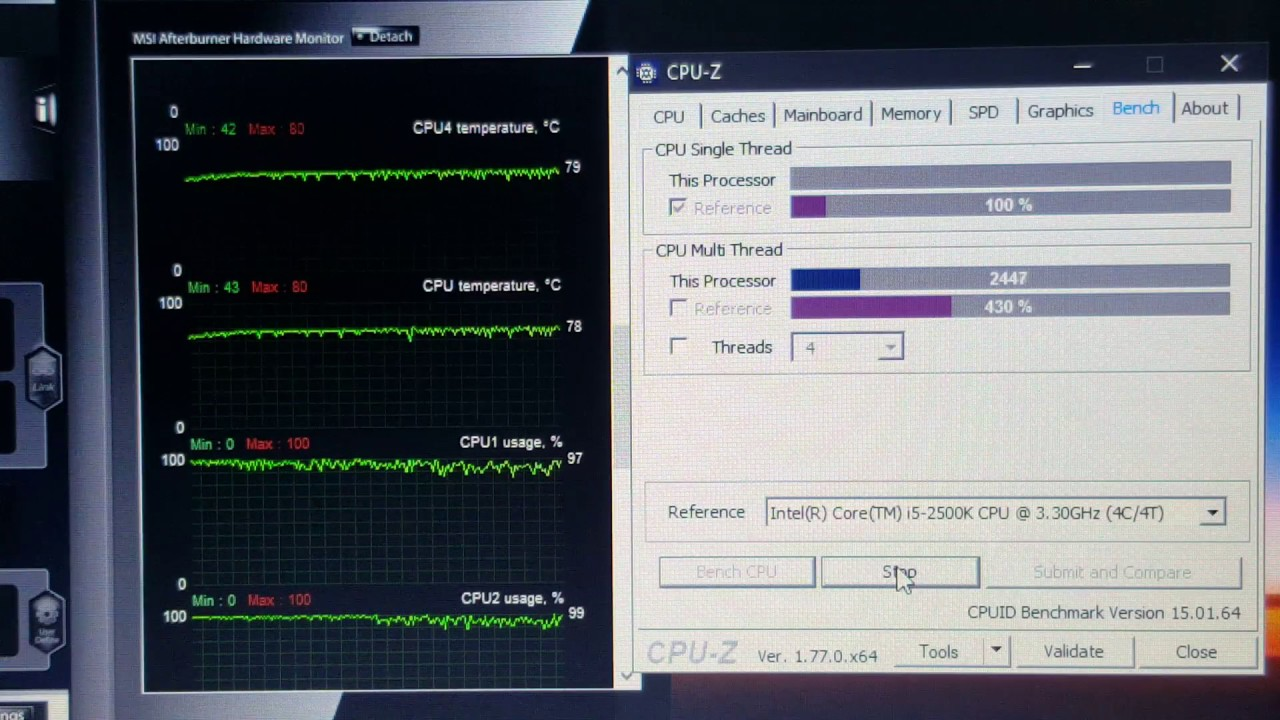 Stress Test and Cooling capability @ 30C ambient - HP Elitebook 8470p Intel  i5vpro 3360M 3 5GHZ