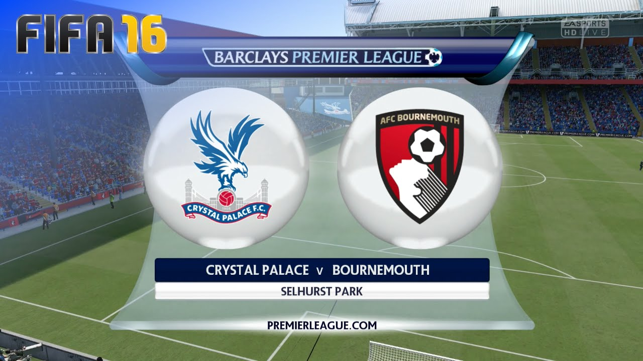 Image result for Crystal Palace vs AFC Bournemouth
