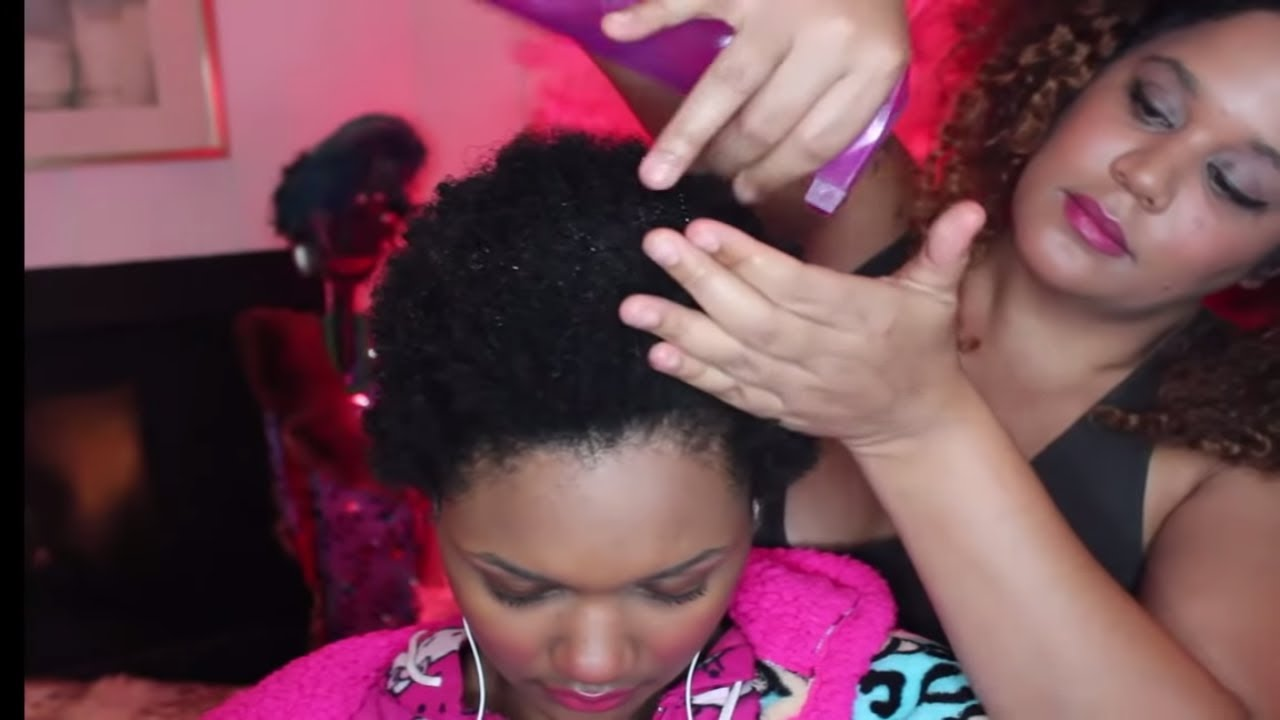 how to make hair spritz