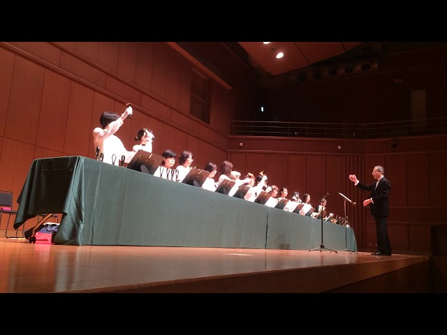 Ave Maria, Kobe YMCA Bell-choir (Dir. Nozomu Abe) 2017 Dec, Handbells