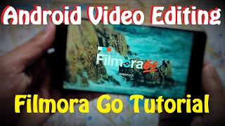 Android Video Editing : Filmora Go Tutorial [ Hindi ] thumbnail