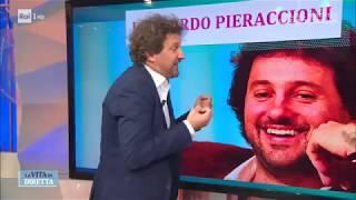 Leonardo Pieraccioni: ho un 'problema' con Carlo Conti  - La Vita in Diretta 04/10/2017
