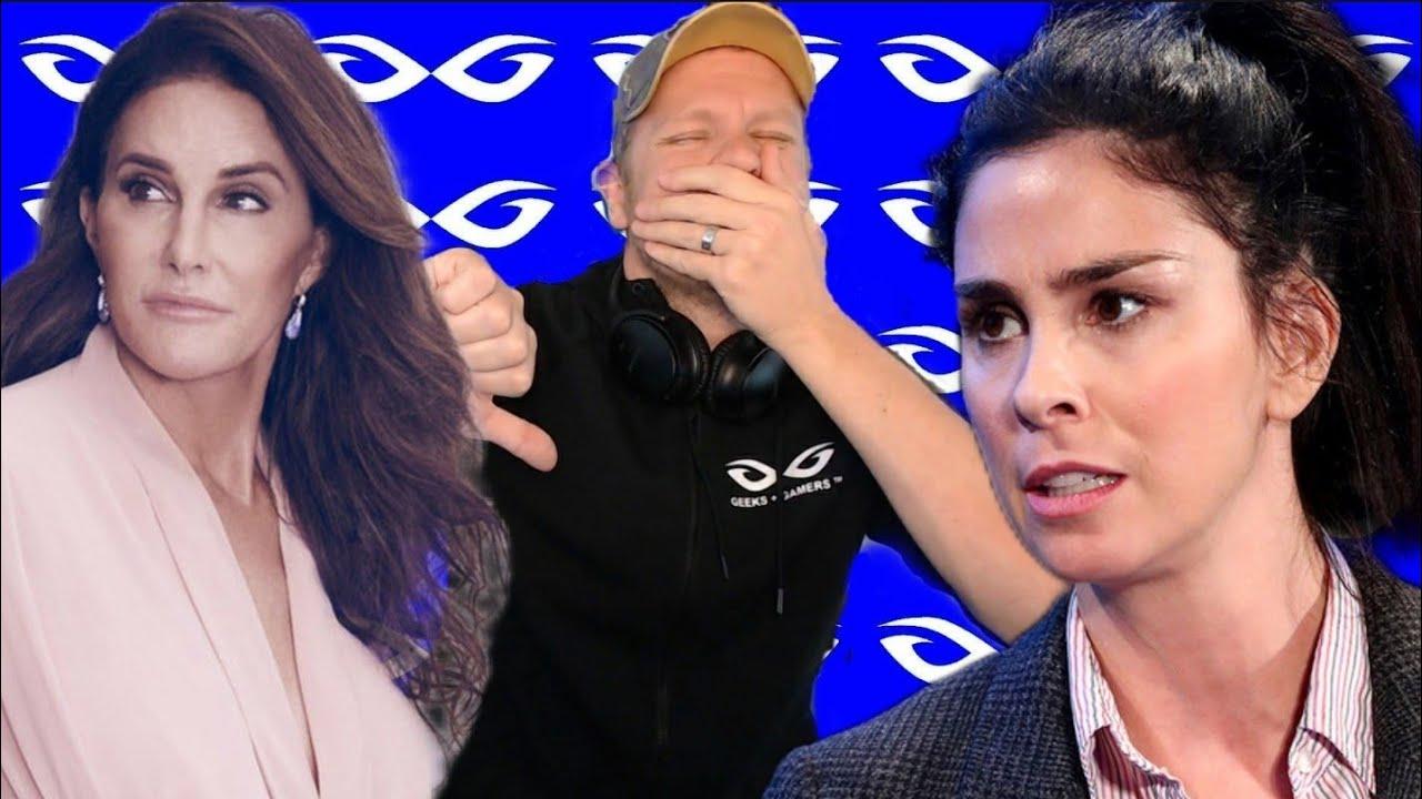 Sarah Silverman ATTACKS Caitlyn Jenner - Hollywood Eating Itself Alive