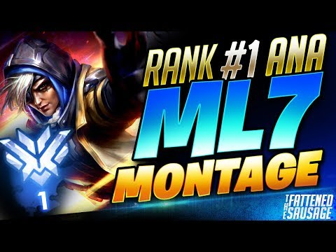 WORLD'S #1 ANA GOD MONTAGE - ml7's Greatest Ana Plays