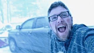 Caught in a Snow Squall! (In November!)