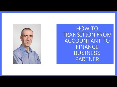 How To Transition From Accountant To Finance Business Partner