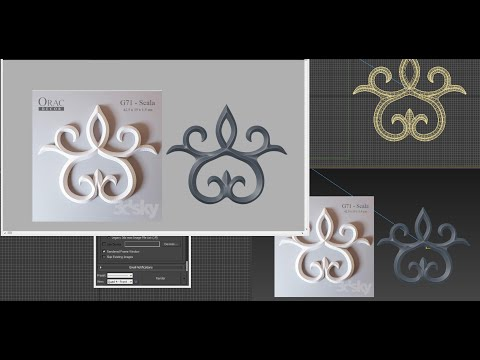 3ds Max - Tutorial - 3D CLASSICAL Decor Orac