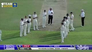 England Team honors the World's Best Left Arm Spinner at his Farewell Match