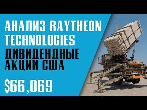 АНАЛИЗ АКЦИИ RAYTHEON TECHNOLOGIES. ДИВИДЕНДНЫЕ АКЦИИ США. Инвестиционный портфель.