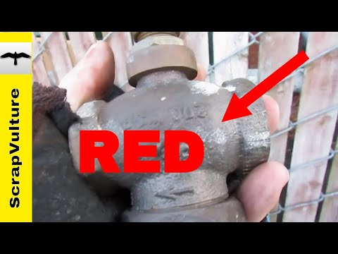 red-brass-encounter---what-it-is?-scrap-it---dumpster-diving-for-scrap-metals---tree-frog-what?