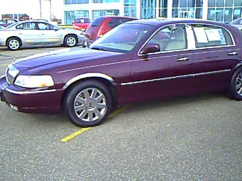 2007 Lincoln Town Car Designer Series Youtube