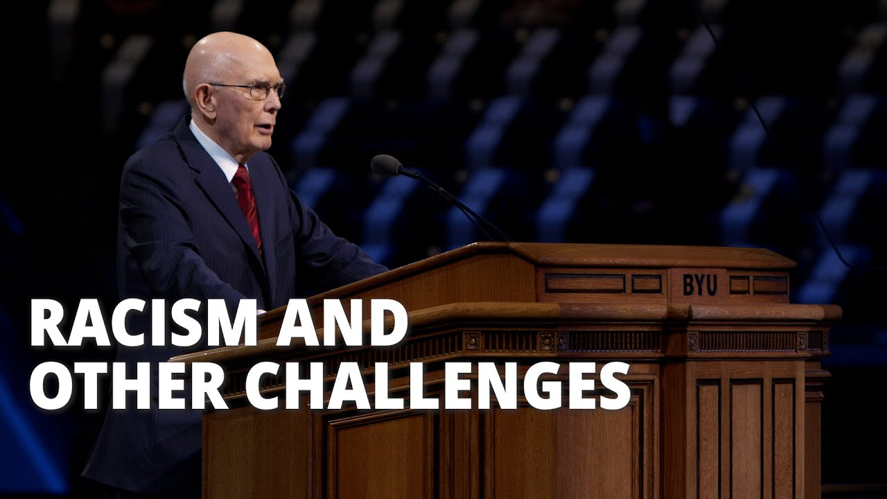 At A Glance: President Oaks BYU Devotional
