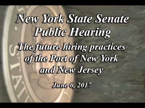 Senate Standing Committee Public Hearing on Corporations, Authorities and Commissions - 06/06/17