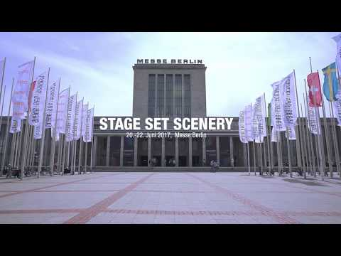 Gerriets Exhibition Stand – STAGE   SET   SCENERY 2017, Berlin / Germany