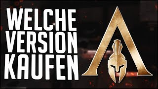 Welche VERSION soll ich KAUFEN - Assassin's Creed Odyssey / Gold, Ultimate, Standard (...)