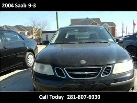 2004 Saab 9-3 Used Cars Houston,TX Auto Finance