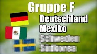 WM 2018 - Alle Gruppen & Deutschlands Gegner.. !
