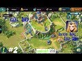 Art of Conquest (AoC) android Gameplay #2 Castle Build