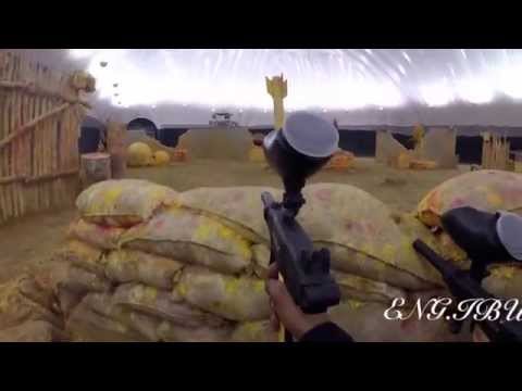 GOPRO: Paintball in Al-Forsan Sport in Abu-Dhabi UAE