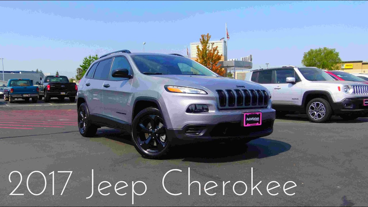 Jeep Cherokee Altitude >> 2017 Jeep Cherokee Altitude 2 4 L 4 Cylinder Review Youtube