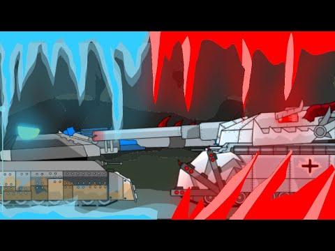 RATTE VS DEMON RATTE - Мультфильм про танки