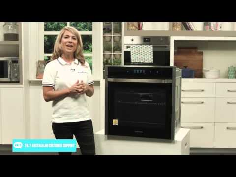 Samsung NV73J9770RSSA Electric Wall Oven with WiFi overview by expert - Appliances Online