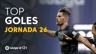 Todos los goles de la jornada 26 de LaLiga 1 2 3 2018/2019